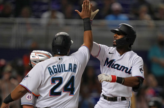 Photo of Lewis Brinson's grand-slam helps Marlins hold off Mets, 6-3