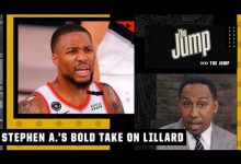 Photo of If Damian Lillard left the Blazers he would want to go to the Knicks – Stephen A. | The Jump