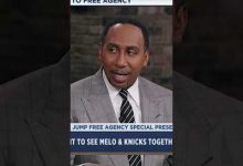 Photo of Stephen A. Smith wants Carmelo Anthony on the Lakers with LeBron James | #shorts