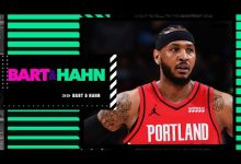 Photo of Stephen A.: Carmelo will go to the Lakers if he leaves the Blazers | Bart and Hahn