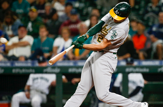 Photo of Matt Olson's two-run homer gives A's 8-3 win over Angels